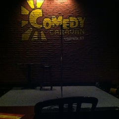 Photo taken at Comedy Caravan by Amy C. on 8/3/2012