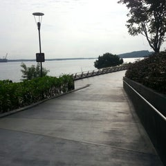 Photo taken at Punggol Promenade by Joshua L. on 9/1/2012