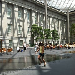 Photo taken at Kogod Courtyard by Treena on 6/30/2012