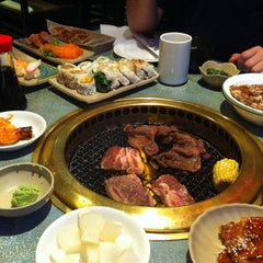 Photo taken at Shabusen Yakiniku House by Brian L. on 4/12/2012