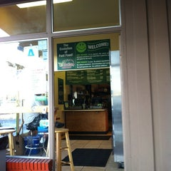 Photo taken at Evolution Fast Food by David P. on 8/28/2012