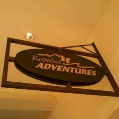 Photo taken at Kapalua Adventure Center by Jill M. on 2/6/2012