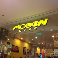 Photo taken at Mooon Cafe by Nicey A. on 6/22/2012
