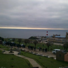 Photo taken at Cementerio de Playa Ancha by Héctor P. on 8/5/2012