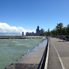 Photo taken at Chicago Lakefront by Jen F. on 9/9/2012