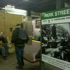 Photo taken at MBTA Park Street Station by SupahFans S. on 3/8/2012
