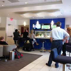 Photo taken at Delta Sky Club by Jaylan H. on 6/30/2012