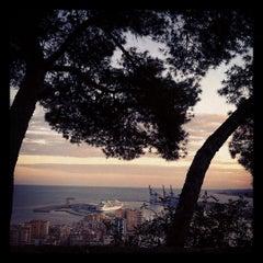 Photo taken at Hotel Parador de Málaga Gibralfaro by Rocio Q. on 5/1/2012