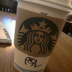 Photo taken at Starbucks by Keri A. on 9/8/2012