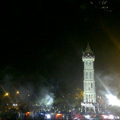 Photo taken at Jam Gadang by Robby M. on 8/18/2012