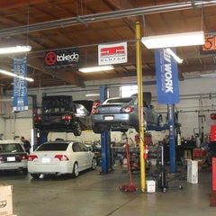 Photo taken at CarTune Independent Service by CARTUNE I. on 4/5/2012