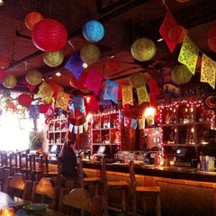 Photo taken at Mad Dog & Beans Mexican Cantina by Judy T. on 4/29/2012