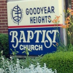 Photo taken at Goodyear Heights Baptist Church by Kathi W. on 6/7/2012