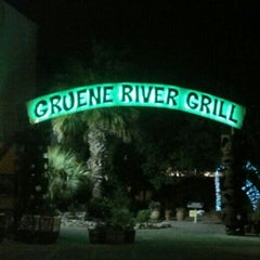 Photo taken at Gruene River Grill by Kristin on 6/10/2012