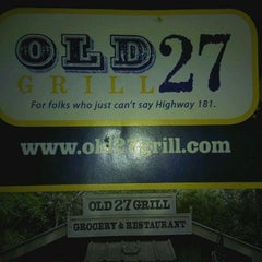 Photo taken at Old 27 Grill by Jared B. on 2/4/2012