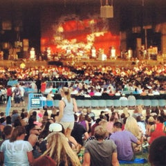 Photo taken at Gexa Energy Pavilion by Michael C. on 8/12/2012