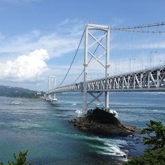 Photo taken at 大鳴門橋 by niha00 on 8/12/2012