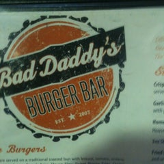 Photo taken at Bad Daddy's Burger Bar by CJ F. on 5/4/2012