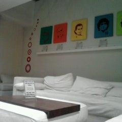 Photo taken at America del Sur Hostel by Gustavo B. on 9/6/2012