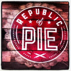 Photo taken at Republic Of Pie by Christine B. on 8/25/2012