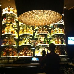 Photo taken at Dominick's Steakhouse by Kristen K. on 3/30/2012