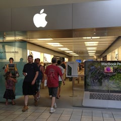 Photo taken at Apple Store, Maine Mall by AlohaKarina on 7/2/2012