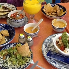 Photo taken at La Choza Cozumel by Cristina B. on 6/19/2012