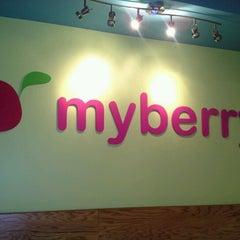 Photo taken at MyBerry Frozen Yogurt by Sam S. on 6/26/2012