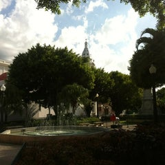 Photo taken at Parque De Bombas by Zain on 8/31/2012