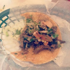 Photo taken at Tío Luis Tacos by Brendon on 5/5/2012