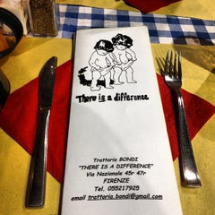 Photo taken at Nerone Trattoria by Modayan A. on 3/23/2012