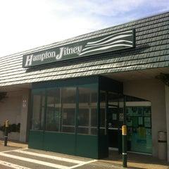 Photo taken at Hampton Jitney - Southampton by Jimmy M. on 8/21/2012