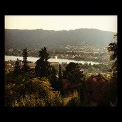 Photo taken at Dolder Grand Garden Restaurant by Breno V. on 8/9/2012
