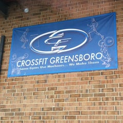 Photo taken at Crossfit Of Greensboro by Eric K. on 2/16/2012