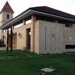 Photo taken at Iglesia Santa Ana de Chia by Pachito S. on 3/31/2012