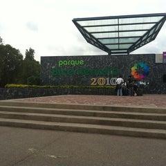 Photo taken at Parque Bicentenario by Irma R. on 6/20/2012
