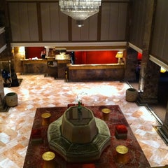 Photo taken at The Michelangelo Hotel by Benjy W. on 3/17/2012