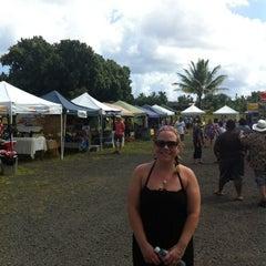 Photo taken at Hanalei Saturday Farmers Market by Shawn F. on 9/8/2012