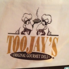 Photo taken at TooJay's Gourmet Deli by Susan on 8/26/2012