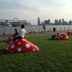 Photo taken at Pier 45 - Hudson River Park by Cindy T. on 7/12/2012