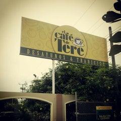 Photo taken at El Café de Tere by caballerogqr on 4/15/2012
