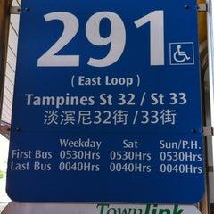 Photo taken at Tampines Bus Interchange by Keyna S. on 3/2/2012