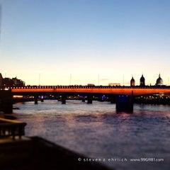 Photo taken at London Bridge City Pier by Steven E. on 8/20/2012