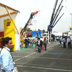 Photo taken at Espacio Riesco - Expomin 2012 by Juan Carlos L. on 4/9/2012