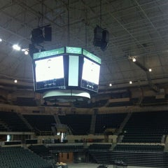 Photo taken at USF Sun Dome by Chuck R. on 4/26/2012
