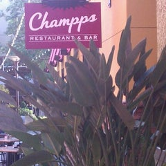 Photo taken at Champps Restaurant & Bar by Bruce B. on 3/19/2012
