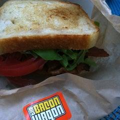 Photo taken at The Bacon Wagon by Kristin on 5/14/2012