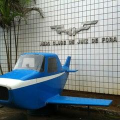 Photo taken at Aeroporto de Juiz de Fora / Serrinha (JDF) by Leandro C. on 8/13/2012