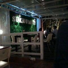 Photo taken at Sukhumvit Restaurant by Lia I. on 2/16/2012