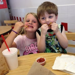 Photo taken at Five Guys by Beth B. on 4/25/2012